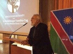 Dr. Eichler bei der Eröffnung der Tagung